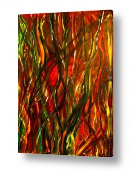 אסתר חן-ברזילי אסתר חן-ברזילי - אמנות מהלב - המילים הפכו לצבעים - דמויות | בסבך היער