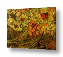 אסתר חן-ברזילי אסתר חן-ברזילי - אמנות מהלב - המילים הפכו לצבעים - צבעוניות | פריחה בסתו