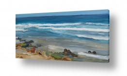 אסתר טל אסתר טל - ציורי שמן ריאליסטיים - ים | ים 3