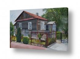 אסתר טל אסתר טל - ציורי שמן ריאליסטיים - בית עץ | בכפר