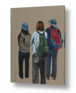 אסתר טל אסתר טל - ציורי שמן ריאליסטיים - כובעים | טיול 3