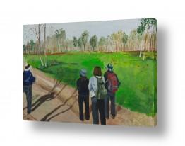 אסתר טל אסתר טל - ציורי שמן ריאליסטיים - עץ | טיול 4