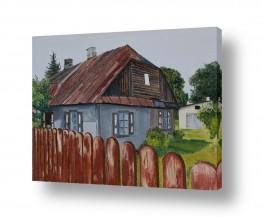 אסתר טל אסתר טל - ציורי שמן ריאליסטיים - בית | בית בכפר