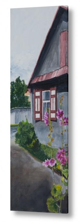 אסתר טל אסתר טל - ציורי שמן ריאליסטיים - בית | בית בכפר 1