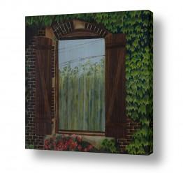 אסתר טל אסתר טל - ציורי שמן ריאליסטיים - חלון | חלון