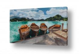 אסתר טל אסתר טל - ציורי שמן ריאליסטיים - סירות | סירות 1
