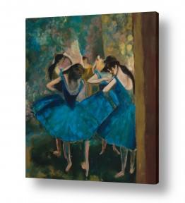 אסתר טל אסתר טל - ציורי שמן ריאליסטיים - רקדניות | הרקדניות של דגה