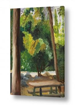 טבע דומם ספסלים | חניוני קקל 2