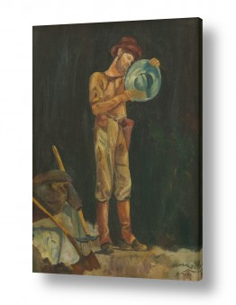 אסתר טל אסתר טל - ציורי שמן ריאליסטיים - כלי עבודה | ארכיאולוג