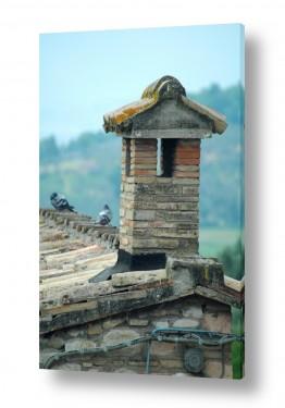 בתים גגות | גגות טוסקנה 2