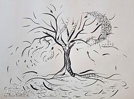 עץ ירח רוח ומים