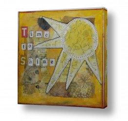 סגנונות טיפוגרפיה דקורטיבית | time to shine