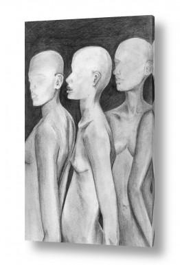 אנשים עירום | בובות