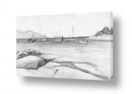 ציורים רישום | סירות