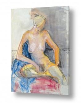 ציורים אנשים ודמויות | אהבה צנועה
