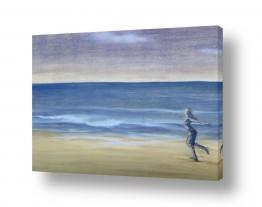 ציורים חני שפר | הים שבפנים