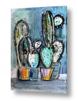 ציורים חני שפר | קקטוסים