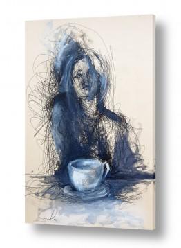 ציורים חני שפר | זמן קפה