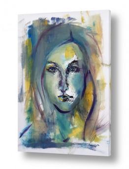 ציורים חני שפר | מבט אישה