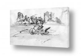 ציורים רישום | אופניים