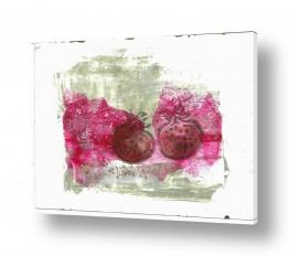 ציורים חני שפר | רימונים בחלוני