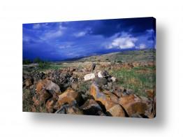 תמונות לפי נושאים הגולן | סלעי הבזלת
