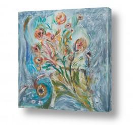 ציורים טבע דומם | פרחים