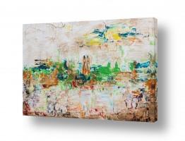 ציורים חוה מזרחי | העיר