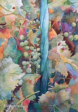 ענבים וסורג