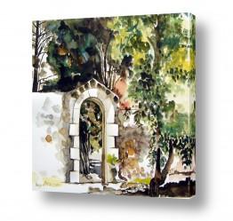 ציורים ציור | שער אבן