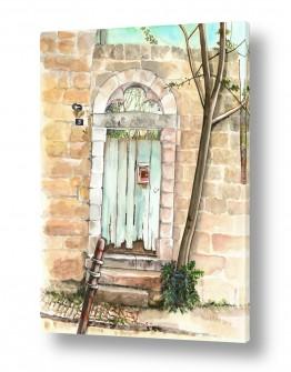 טבע דומם דלתות | שער ישן