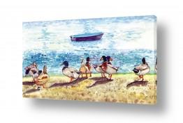 נוף מיים | 9 ברווזים