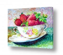 חדרים מטבח | קערת תות שדה