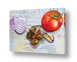 ציורים טבע דומם | ארוחה תרבותית