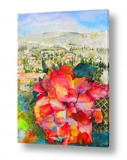ערים בישראל ירושלים | פרח רב צבעים