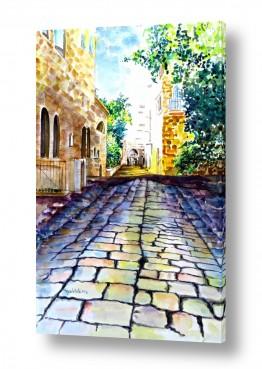 נוף עירוני סמטאות | רחוב ירושלמי