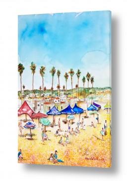 תמונות לחדרי המתנה | חופשה על החוף