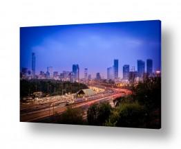 צילומים עידן גיל | שעת העומס תל אביב