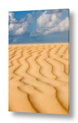 חול דיונות   קווים בחול