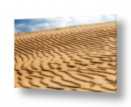 נוף מדבר | חול בתנועה