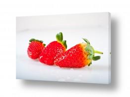 תמונות לחדרי אוכל | תותים