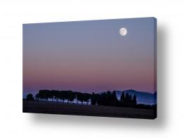 אסטרונומיה ירח | העמק