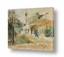 תמונות לפי נושאים דת | נוף ביפו ומסגד