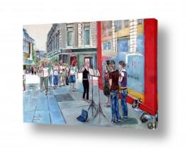 ציורים עוד קרייטר | מדרחוב באוסלו
