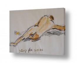 ציורים רישום | גבר בעירום 2006