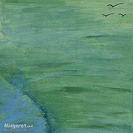 ציפורים ברקיע ירוק