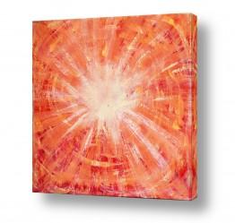 ציורים ציורים אנרגטיים | קרני אור