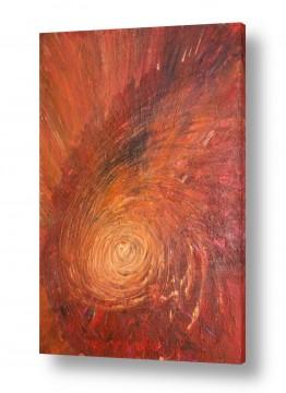 ציורים אבסטרקט | בדרך אל האור