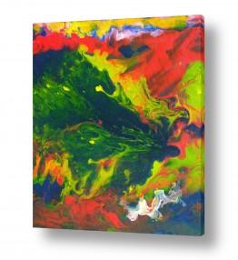 ציורים אירית שרמן-קיש | צבעוניות