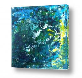 ציורים מים | זרמים במרחב